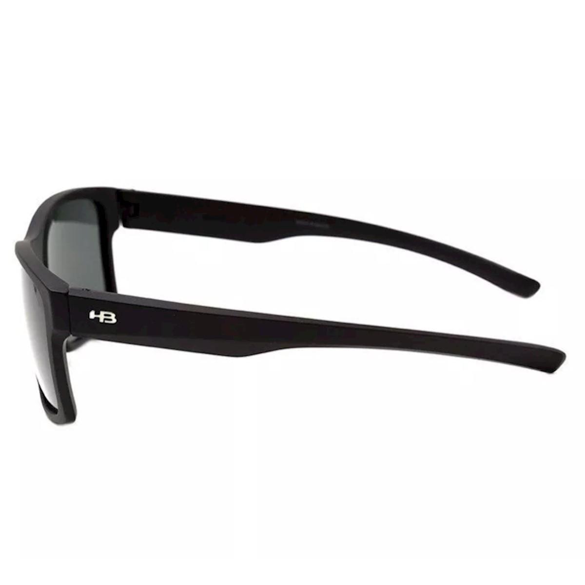d6063c9e961e7 Óculos de Sol HB Freak Matte Gray Polarized - Preto - Compre Agora ...