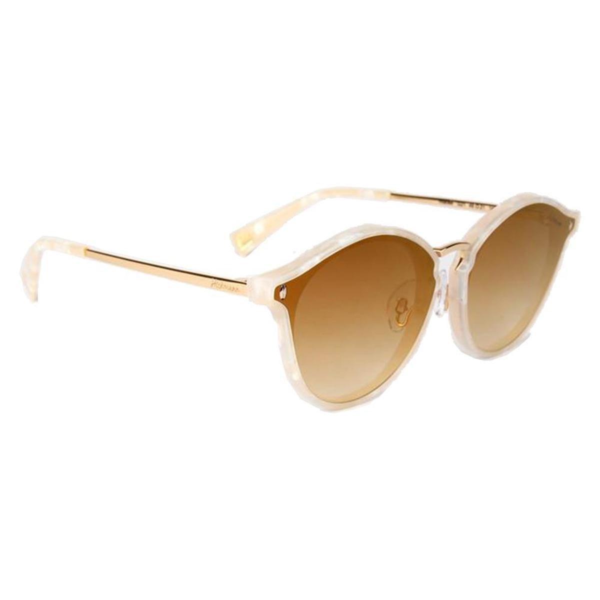Óculos de Sol Hickmann Feminino - Bege