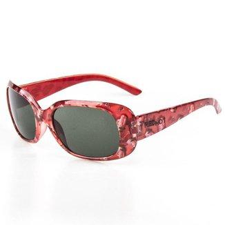 Óculos De Sol Infantil Red Hot Retangular  Feminina