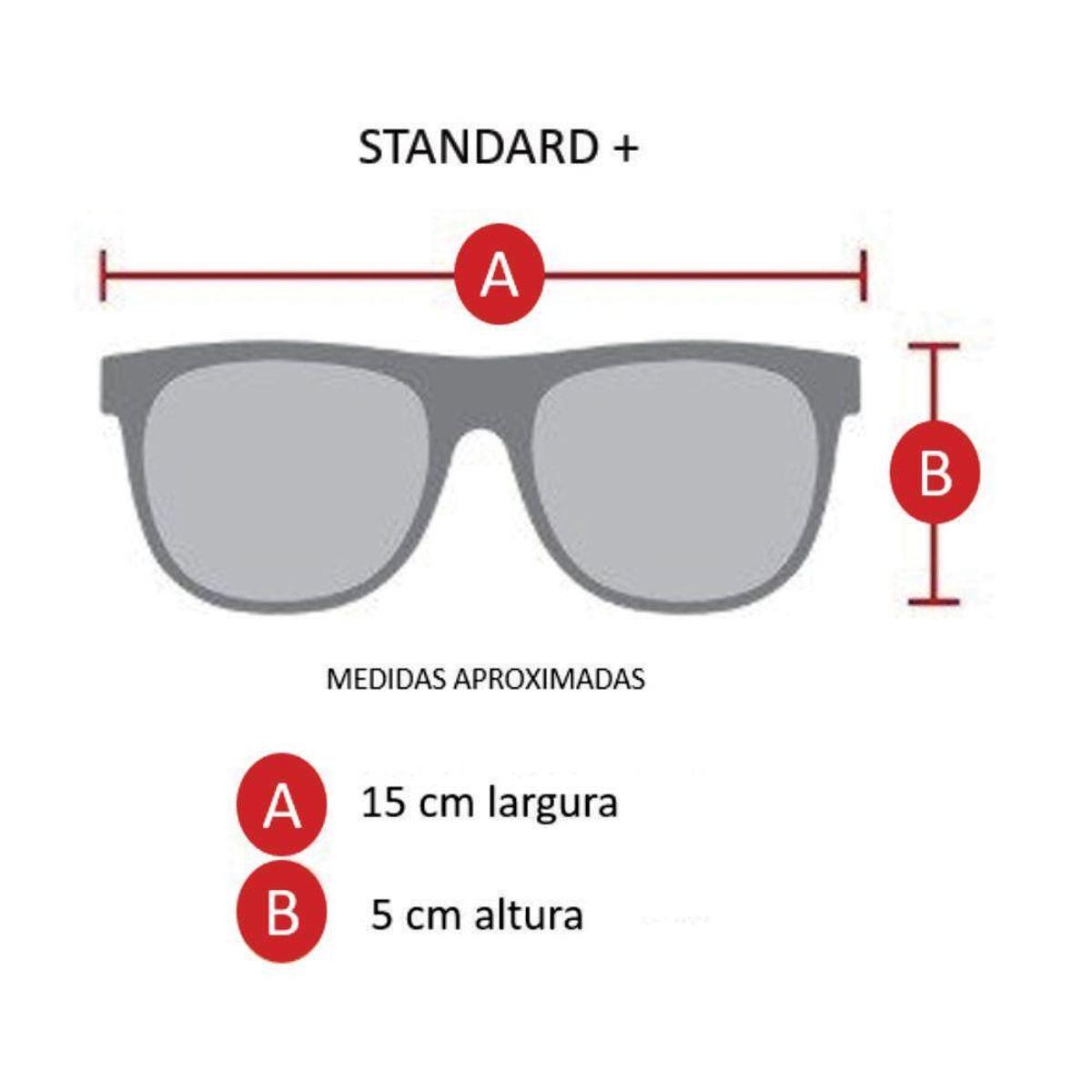 b40d65286ea16 Óculos de Sol Khatto Aviador Militar Masculino - Dourado - Compre ...