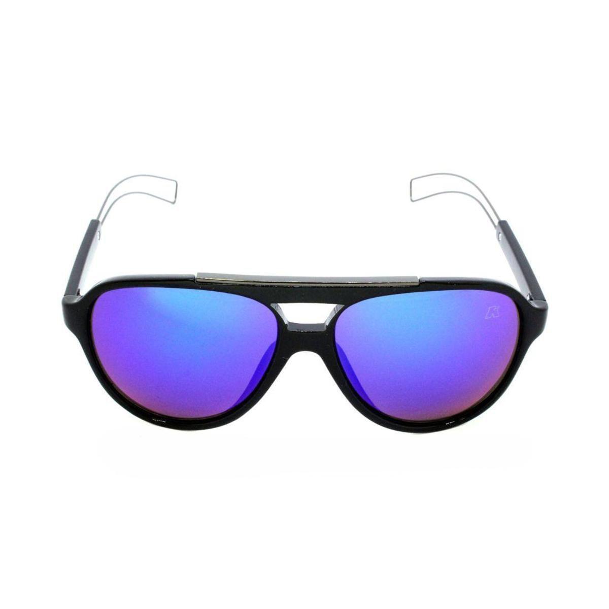 b4bd137a26492 Óculos de Sol Khatto Aviador Tipo Masculino - Preto - Compre Agora ...