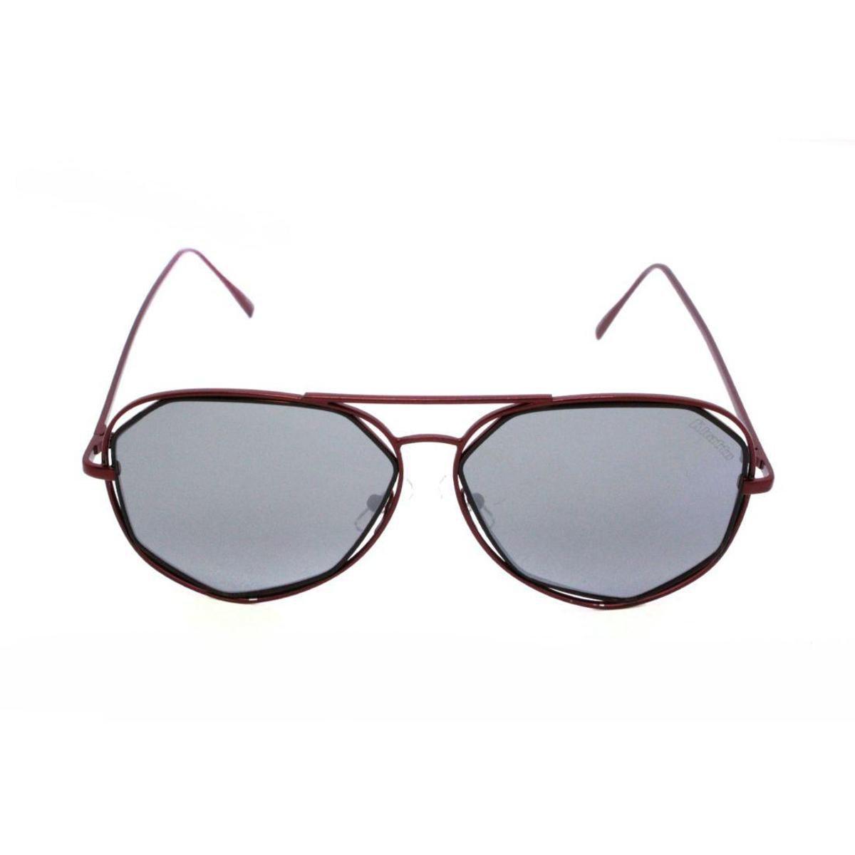 1ea227b50ffbb Óculos de Sol Khatto Aviador Wire - Vinho - Compre Agora