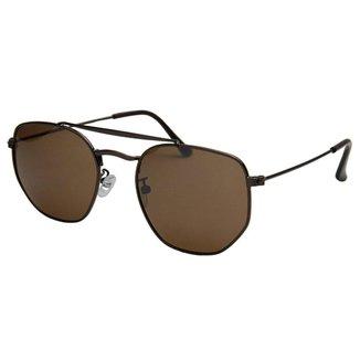 Óculos de Sol Khatto Caçador Hexagonal - C114
