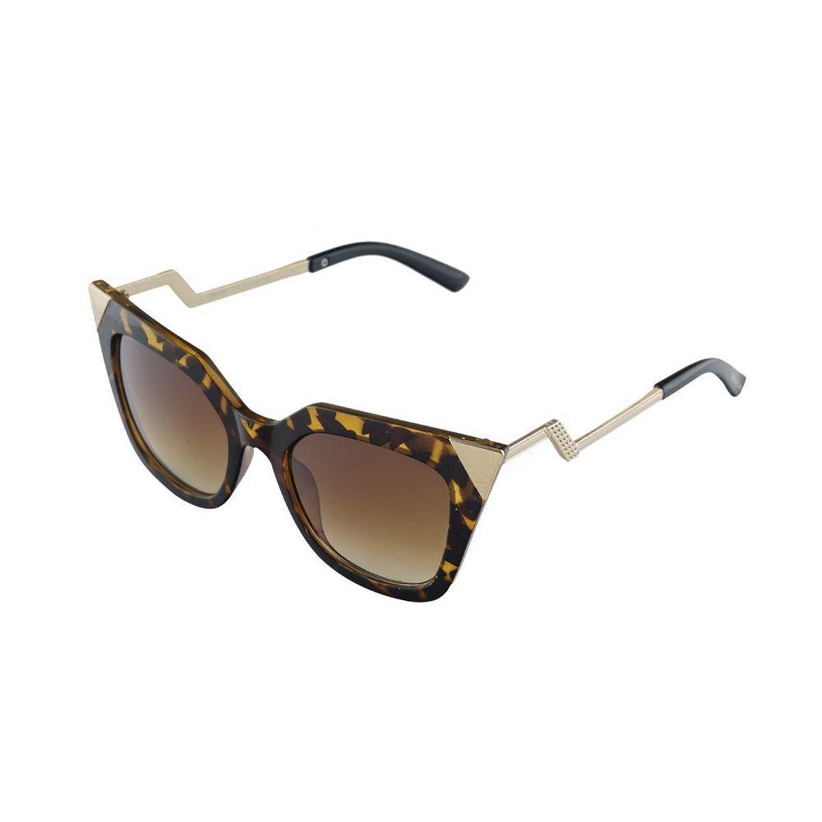 080f0be8741f3 Óculos de Sol Khatto Cat Great Feminino - Marrom - Compre Agora ...
