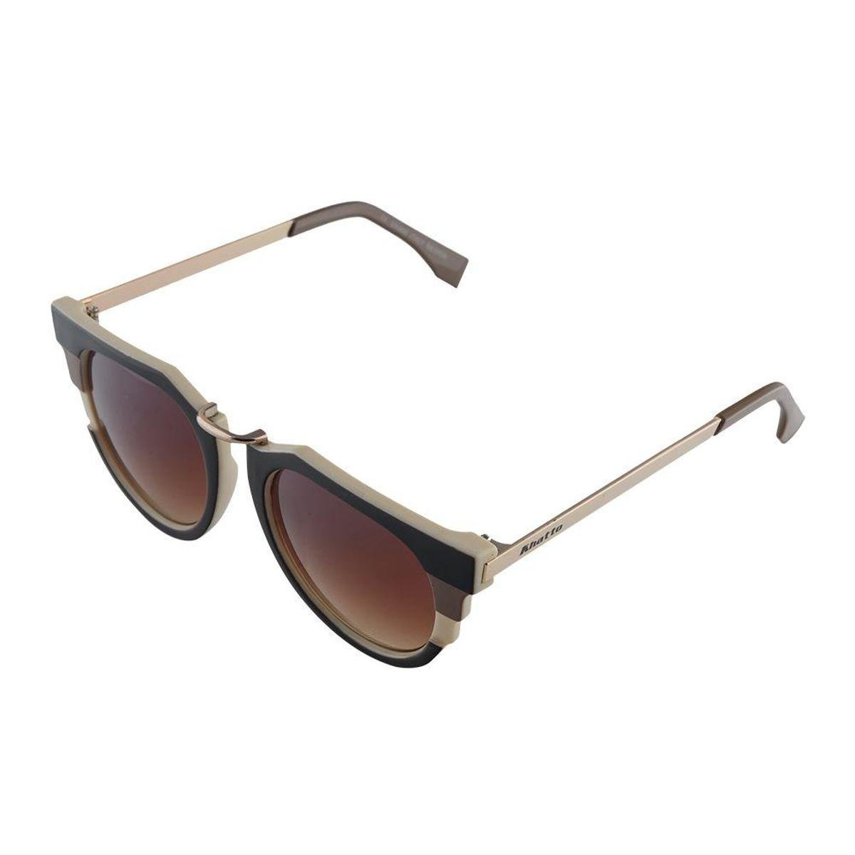 797f99ad0919f Óculos de Sol Khatto Cat Model Feminina - Marrom - Compre Agora ...