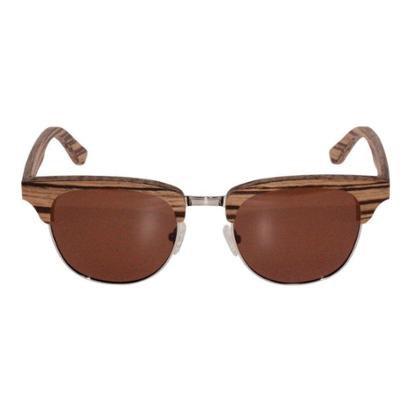 Óculos de Sol Khatto Clubmaster Madeira Feminino