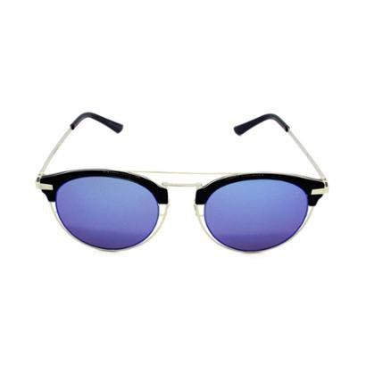 4cbcc27ee2e16 Óculos de Sol Khatto Round Clubmaster Feminino - Compre Agora   Zattini