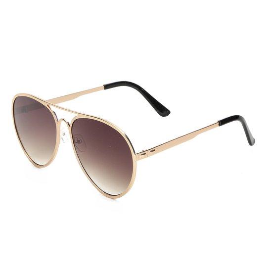 Óculos de Sol King One J05 - Dourado