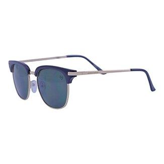 Óculos de Sol Mackage Unissex Metal-acetato Clubmaster - Preto