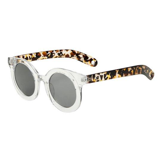 Óculos de Sol Marielas Transparente S8659 Feminino - Preto