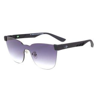 Óculos De Sol Mormaii Bela Preto Fosco Lente Cinza Degradê