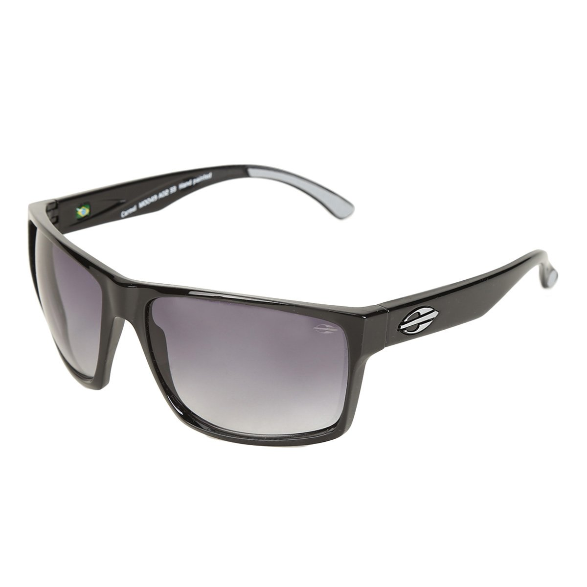 Óculos de Sol Mormaii Carmel Brilho Degrade Masculino - Preto - Compre  Agora   Zattini cb7d3edf8b