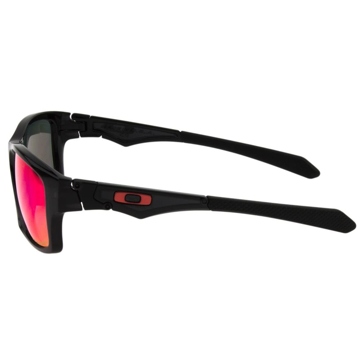 ... Óculos de Sol Oakley Jupiter Squared OO9135P - Black Ink Red Iridium  Polarized ... 99c552b9c9