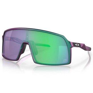 Óculos de Sol Oakley Sutro Troy Lee Matte Purple Green Shift