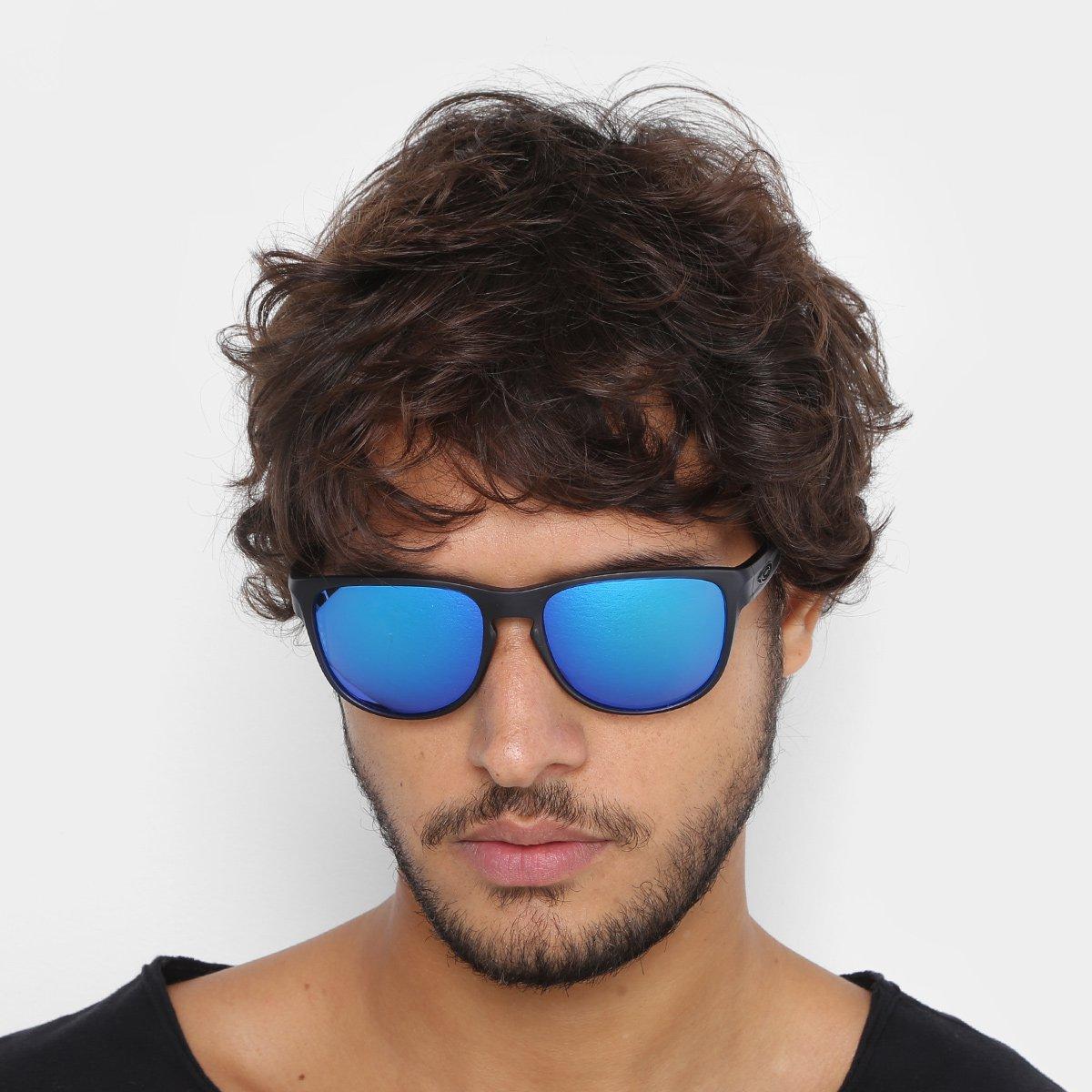 Óculos De Sol Oakley Translucent Silver Masculino - Compre Agora ... c4afb7a104