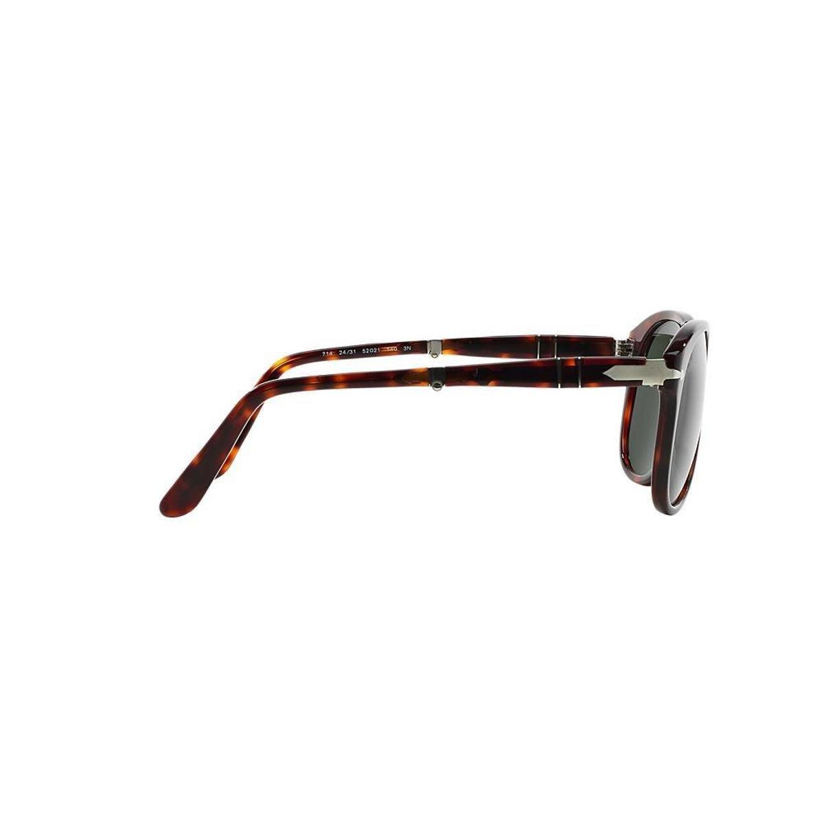 Óculos de Sol Persol Piloto PO0714 Dobrável Masculino - Marrom ... 6d0855e0d4