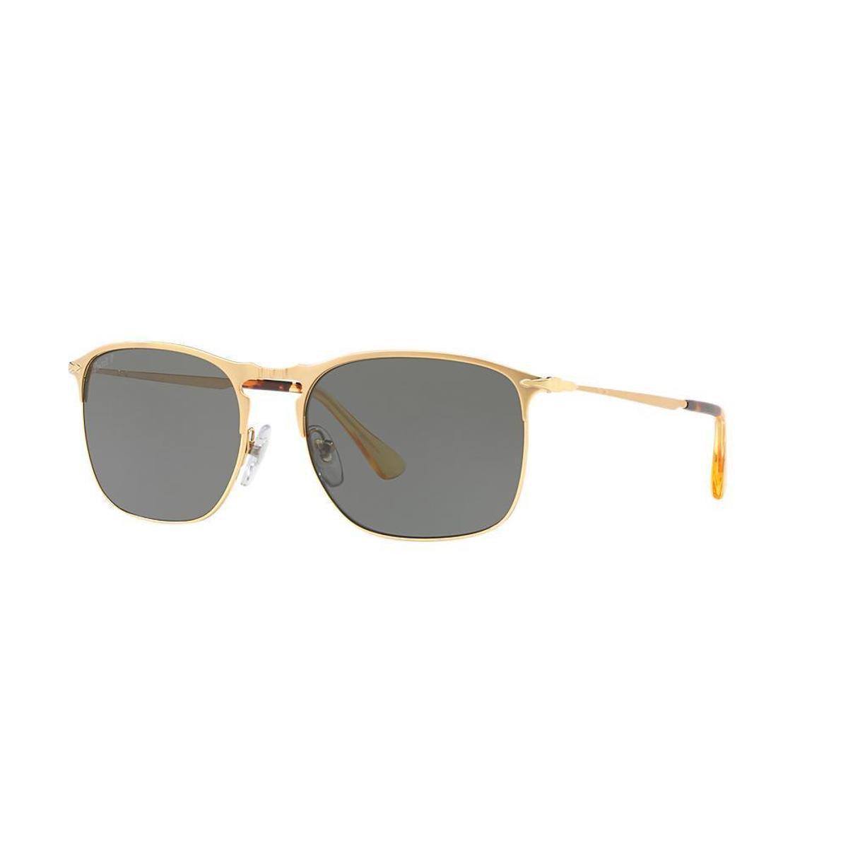 Óculos de Sol Persol Piloto PO7359S Masculino - Dourado e Preto ... f3c130449b