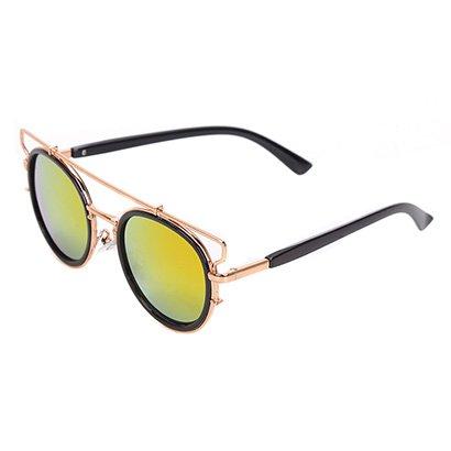 Óculos de Sol Polo London Club Redondo Haste Feminino