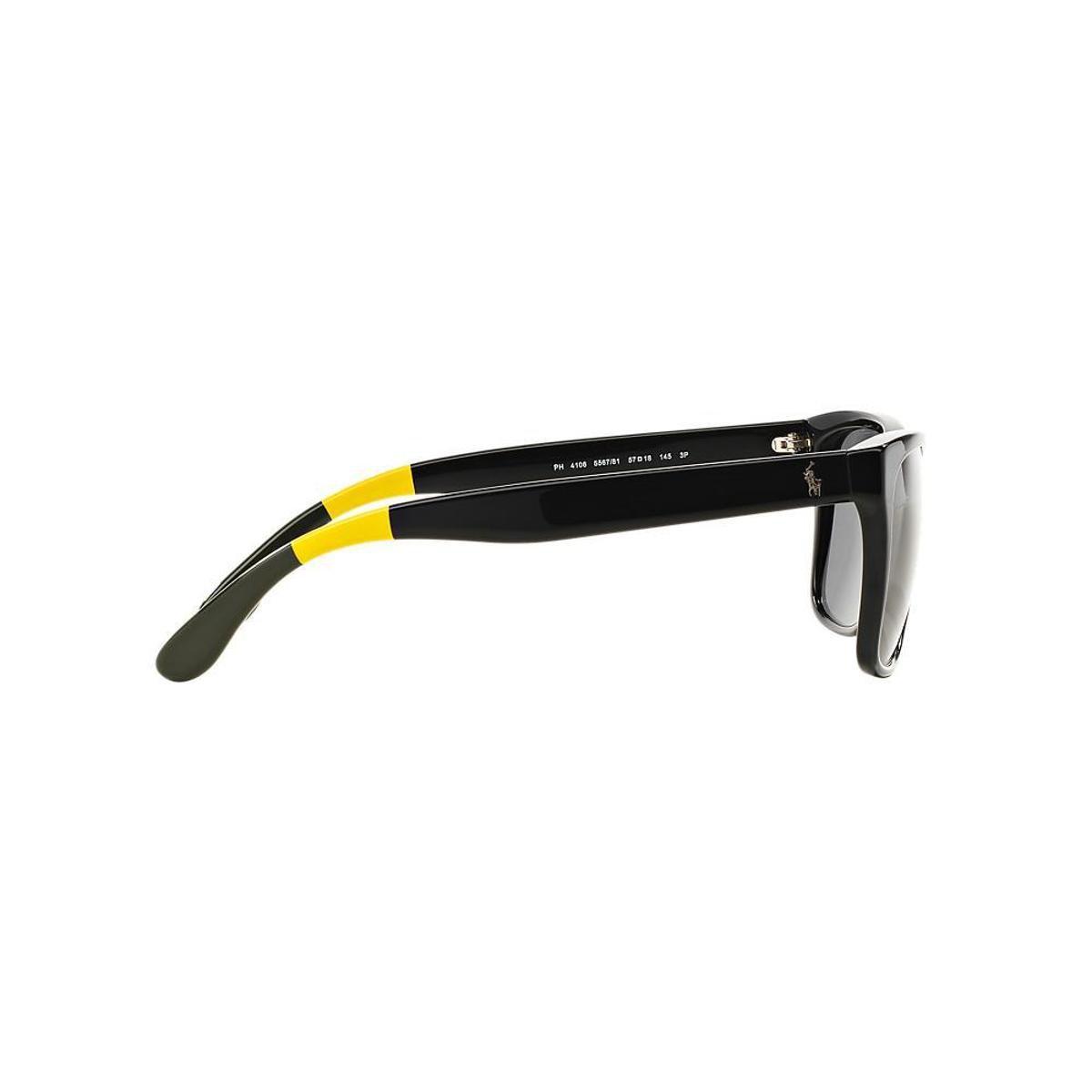 Óculos de Sol Polo Ralph Lauren Retangular PH4106 Feminino - Compre ... 870502dd32