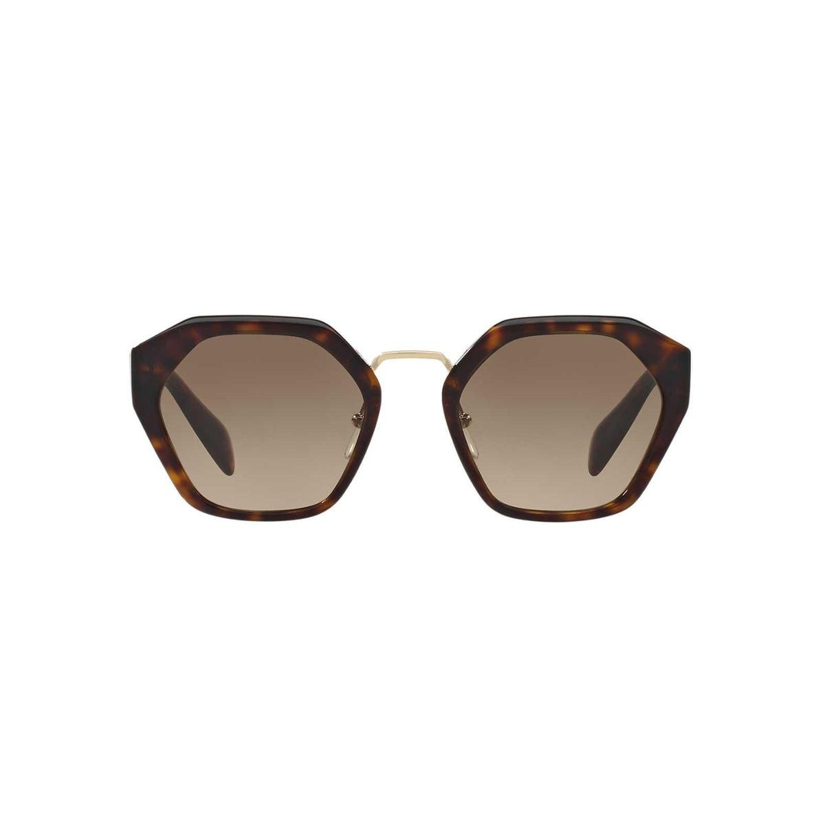 ae6934211 Óculos de Sol Prada Irregular - Marrom - Compre Agora | Zattini