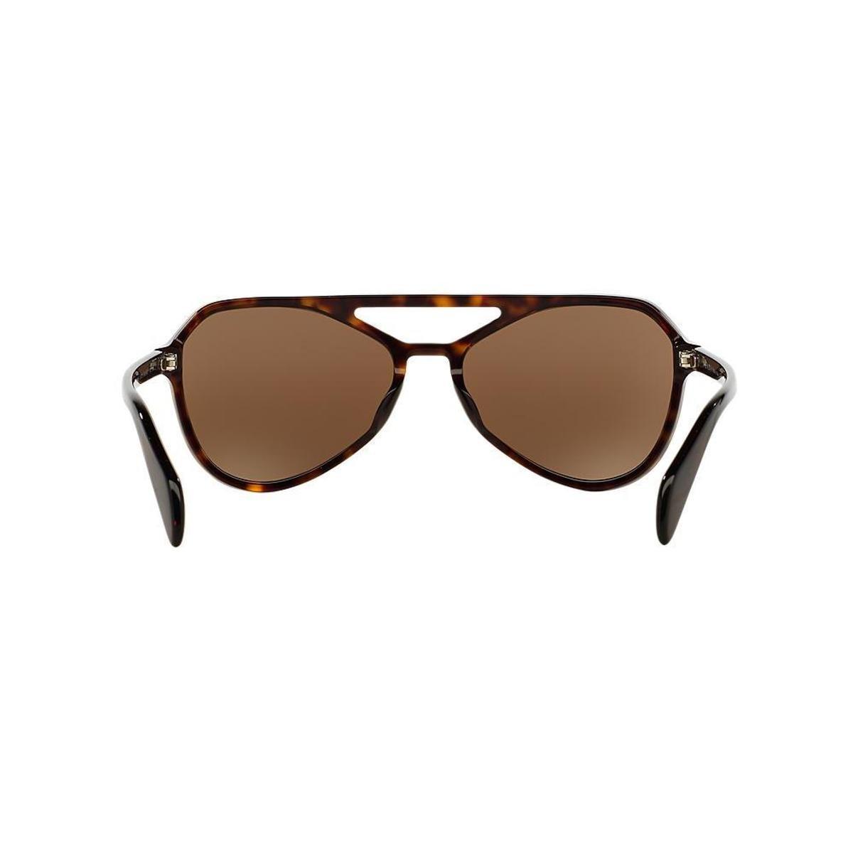 Óculos de Sol Prada Piloto PR 22RS Masculino - Marrom - Compre Agora ... a652fba07e