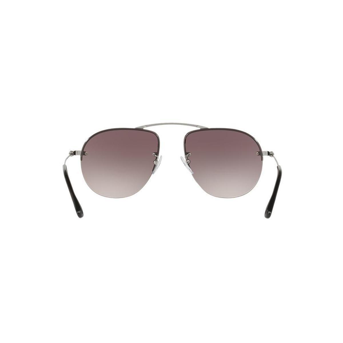 Óculos de Sol Prada Piloto PR 58OS Masculino - Grafite - Compre ... ede7c5cd4a