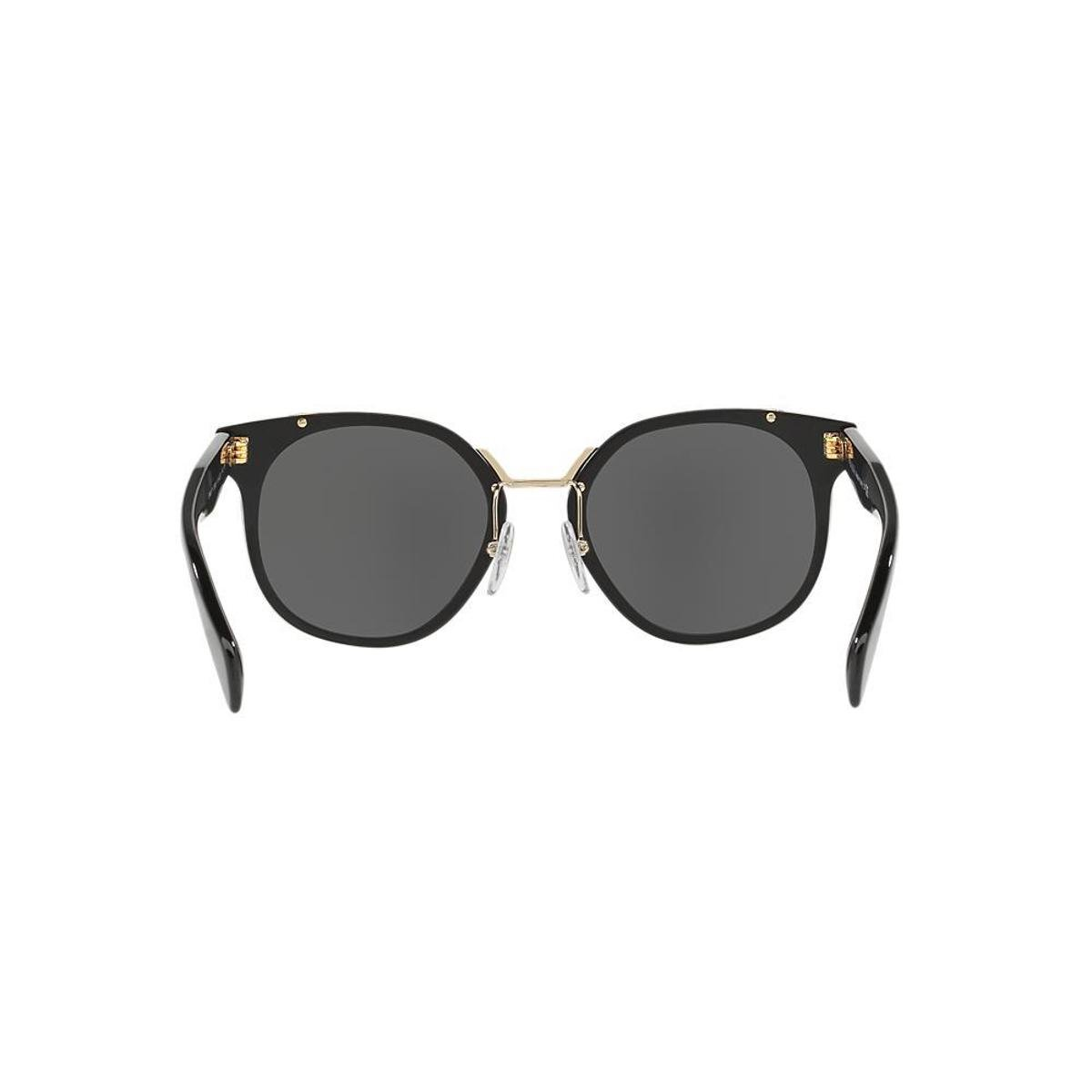 ... 421e8edbaf8 Óculos de Sol Prada Quadrado PR 17TS Feminino - Preto - Compre  Agora . 33e8510245