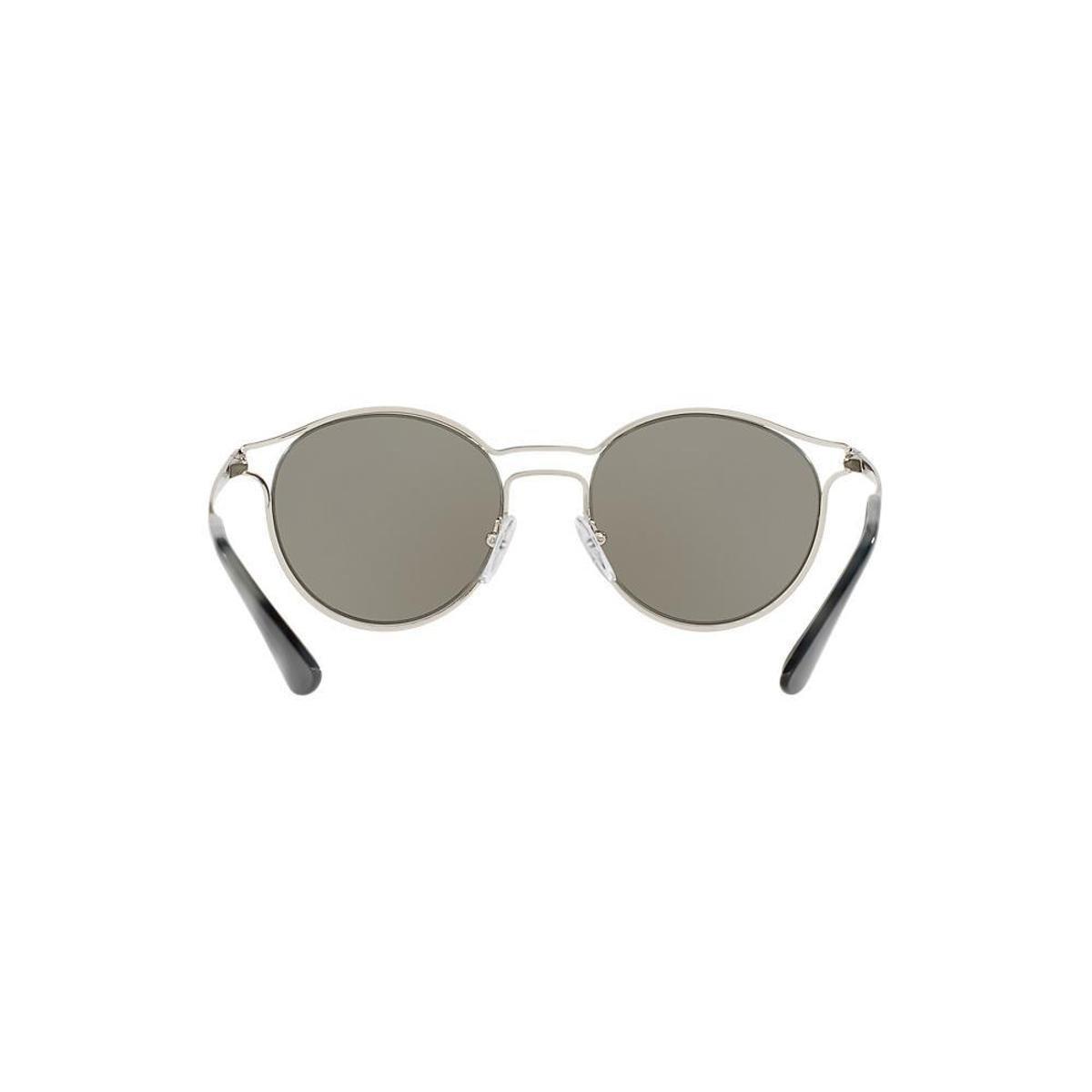 108e12406090c ... Óculos de Sol Prada Redondo PR 62SS Cinema Feminino - Prata - Compre .