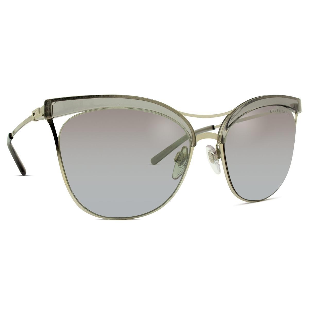 Óculos de Sol Ralph Lauren RL Feminino - Cinza