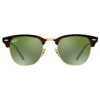 Óculos de Sol Ray-Ban 0RB3016-CLUBMASTER Masculino