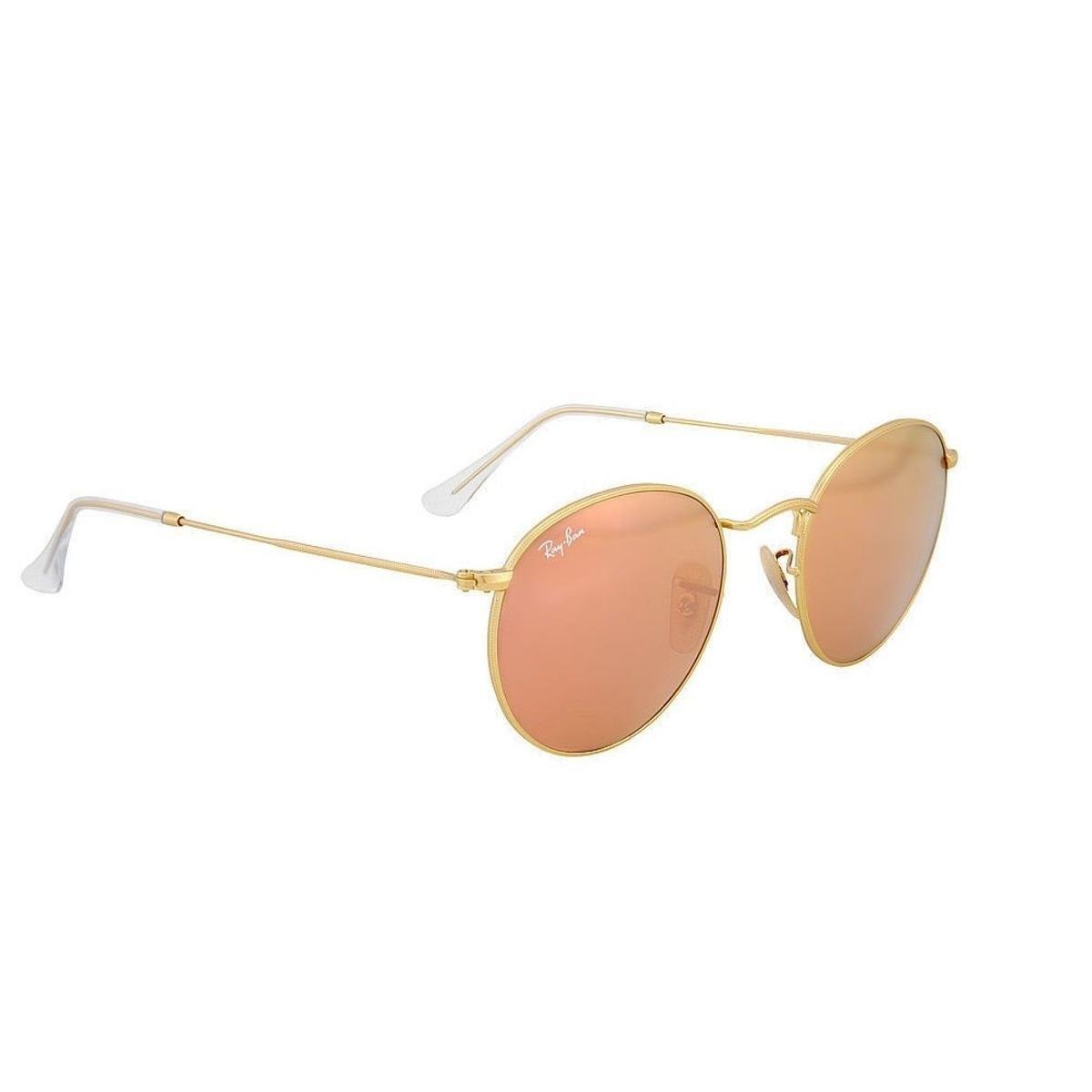 Óculos de Sol Ray Ban 3447L 112 Z2 - Dourado - Compre Agora   Zattini 1b7d39adcd