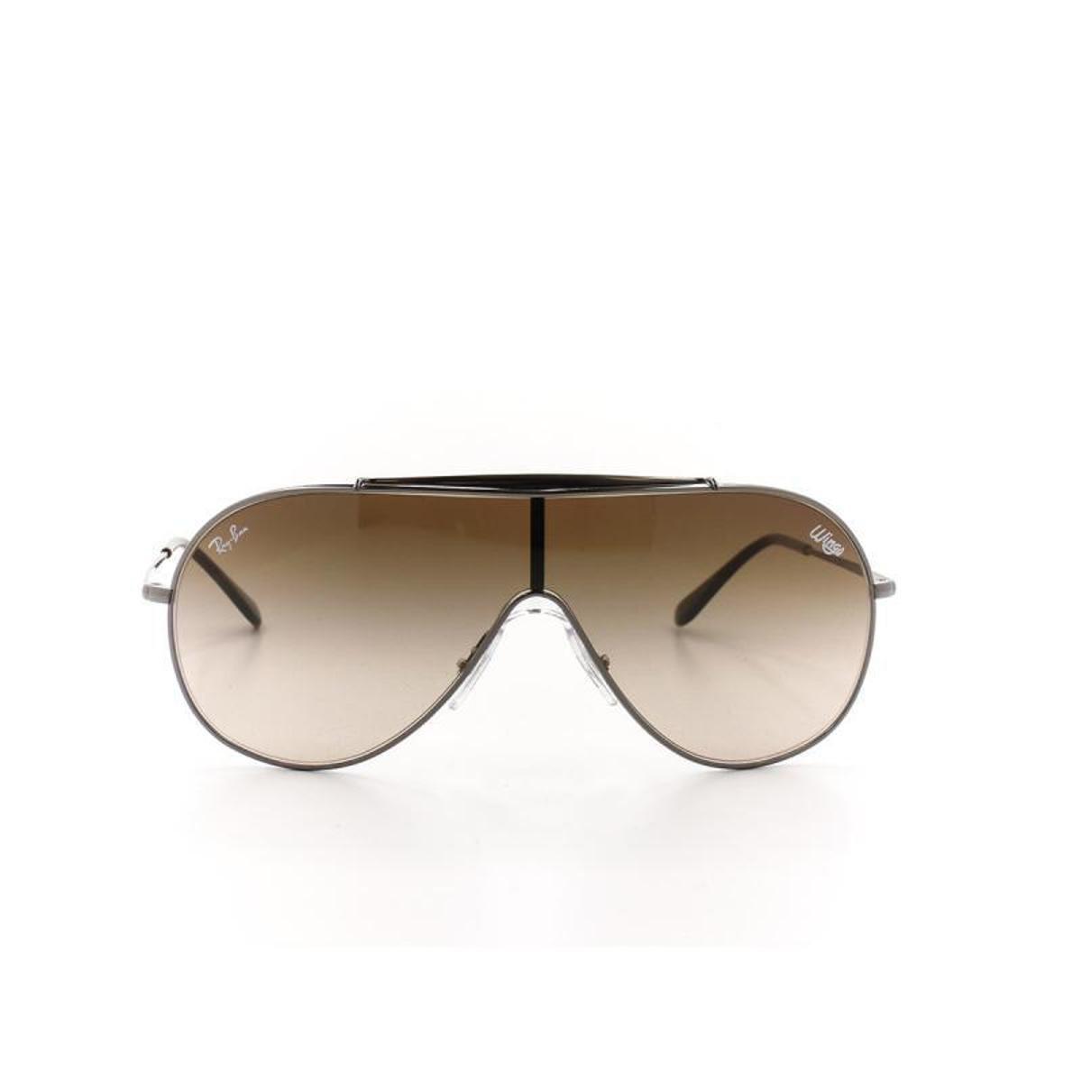 60103cd9bf5f7 Óculos De Sol Ray Ban 3597 T 33 C 004 13 Masculino - Marrom - Compre ...