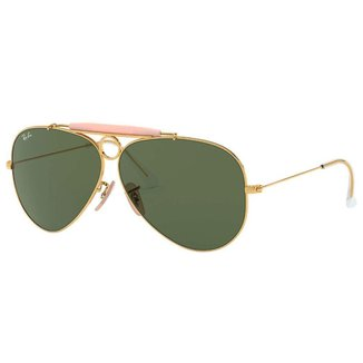 Óculos de Sol Ray Ban Aviador Shooter RB3138 001