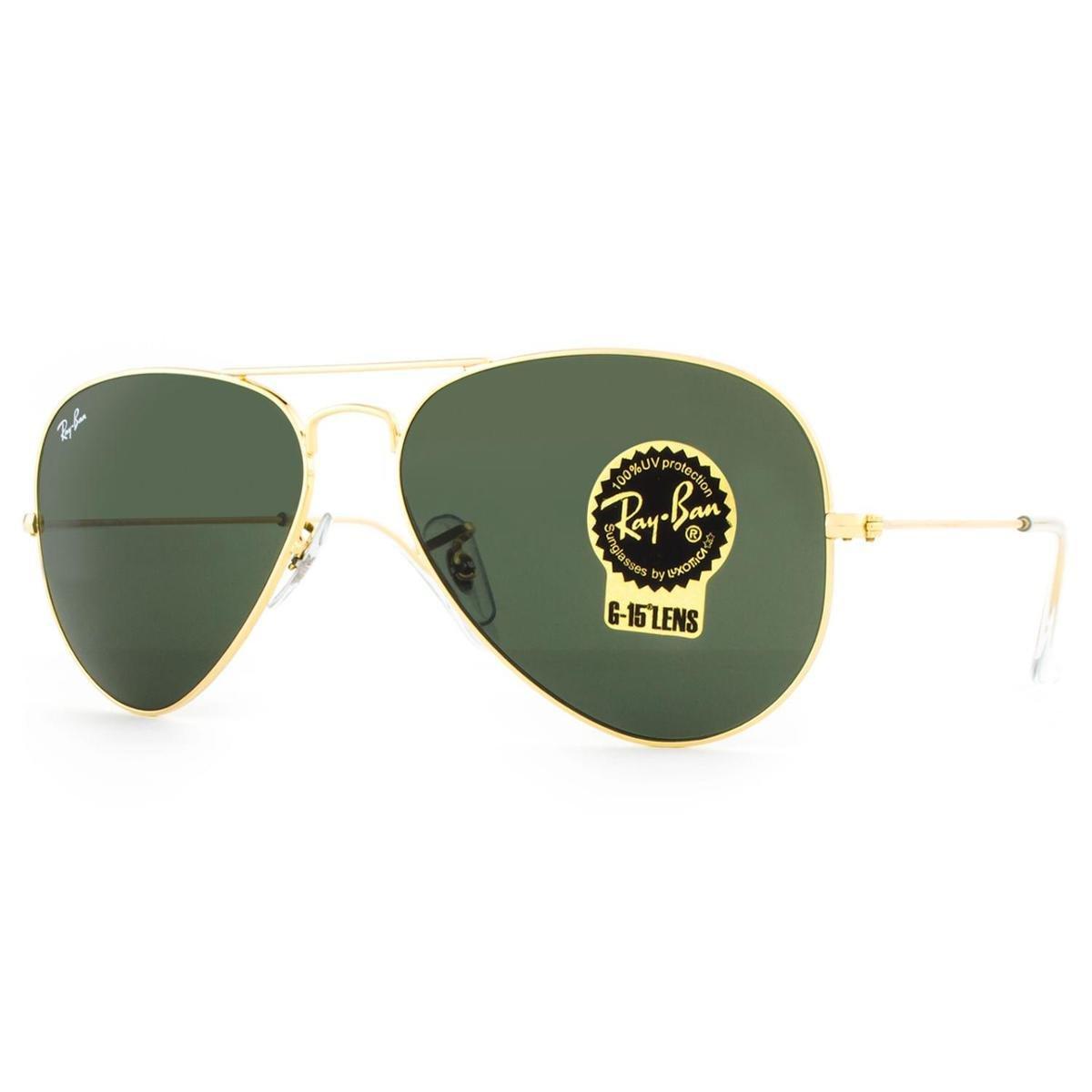 ... Óculos de Sol Ray Ban Aviator Classic RB3025L L0205-58 Masculino ... 6868948843