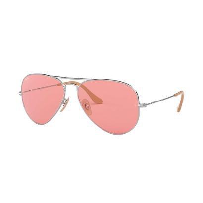 84481ba03 Óculos De Sol Ray-Ban Aviator Evolve Feminino-Feminino ...