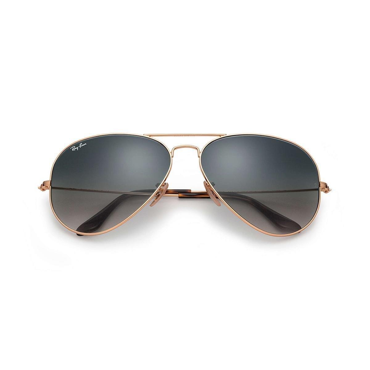 3858d8243fd24 Óculos de Sol Ray-Ban Aviator Feminino - Dourado - Compre Agora ...