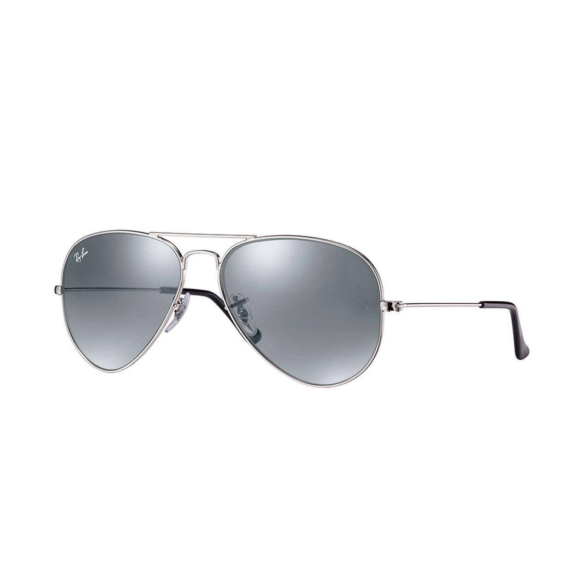 Óculos de Sol Ray-Ban Aviator Large Metal - Prata - Compre Agora ... 29609b81ae