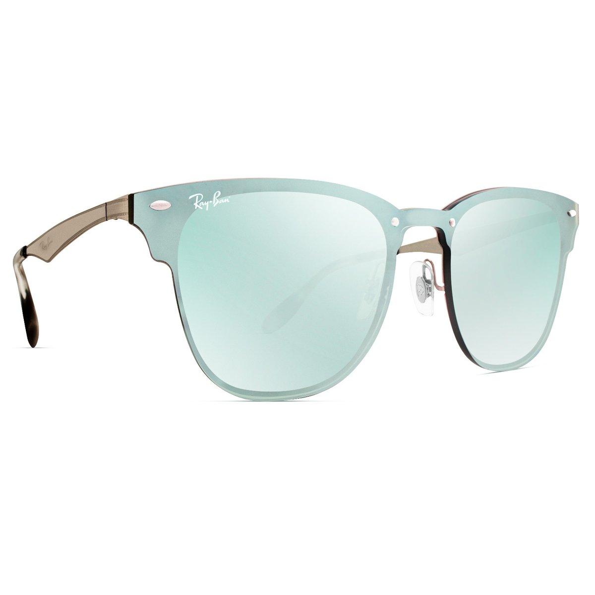 Óculos de Sol Ray Ban Blaze Clubmaster RB3576N 042 30-47 - Compre ... 7df8531c62