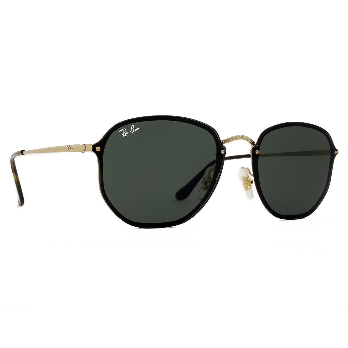 Óculos de Sol Ray Ban Blaze Hexagonal RB3579N 001 71-58 - Compre ... ee61a43aab223