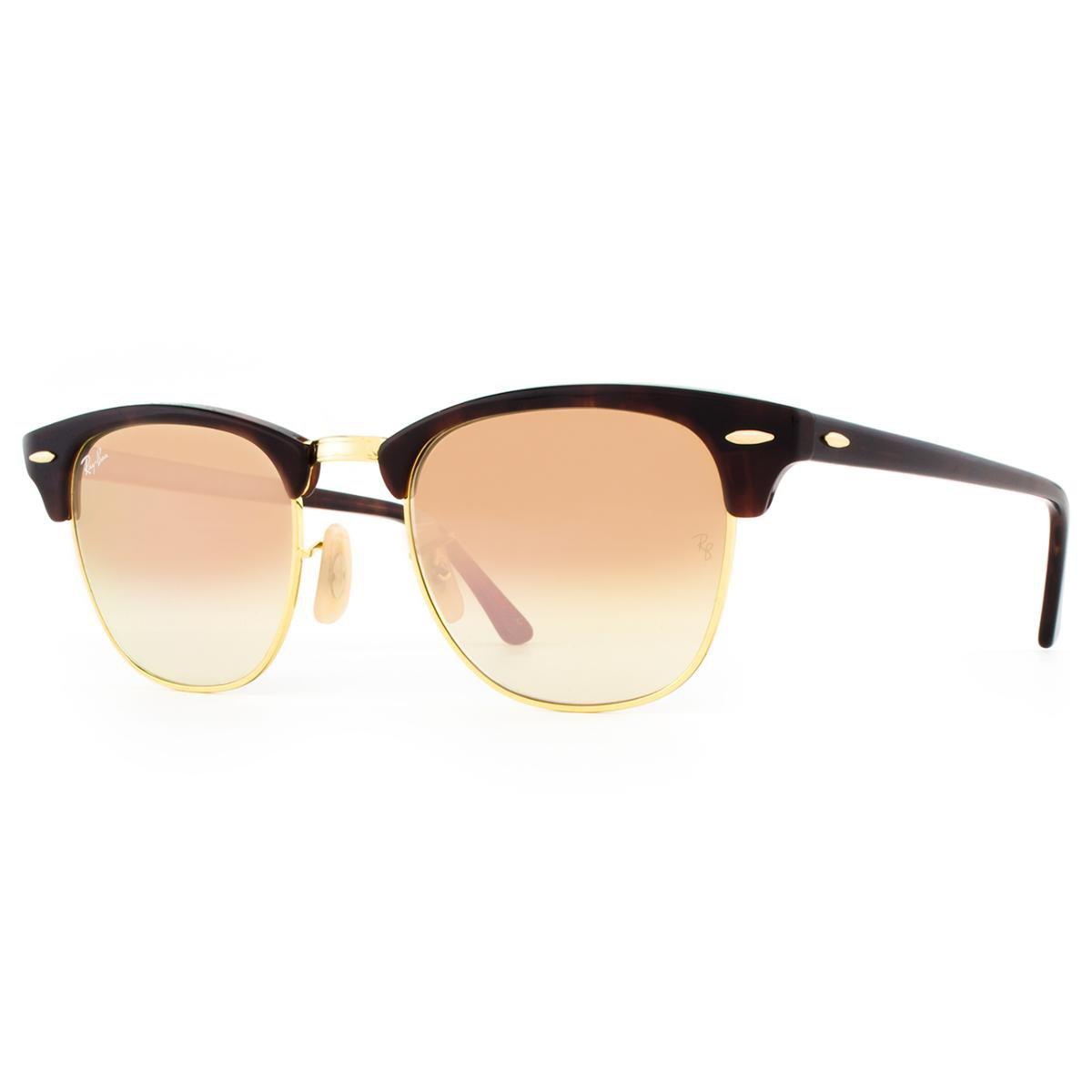 ... Óculos de Sol Ray Ban Clubmaster Flash RB3016 990 7O-51 Feminino ... e7f9814003