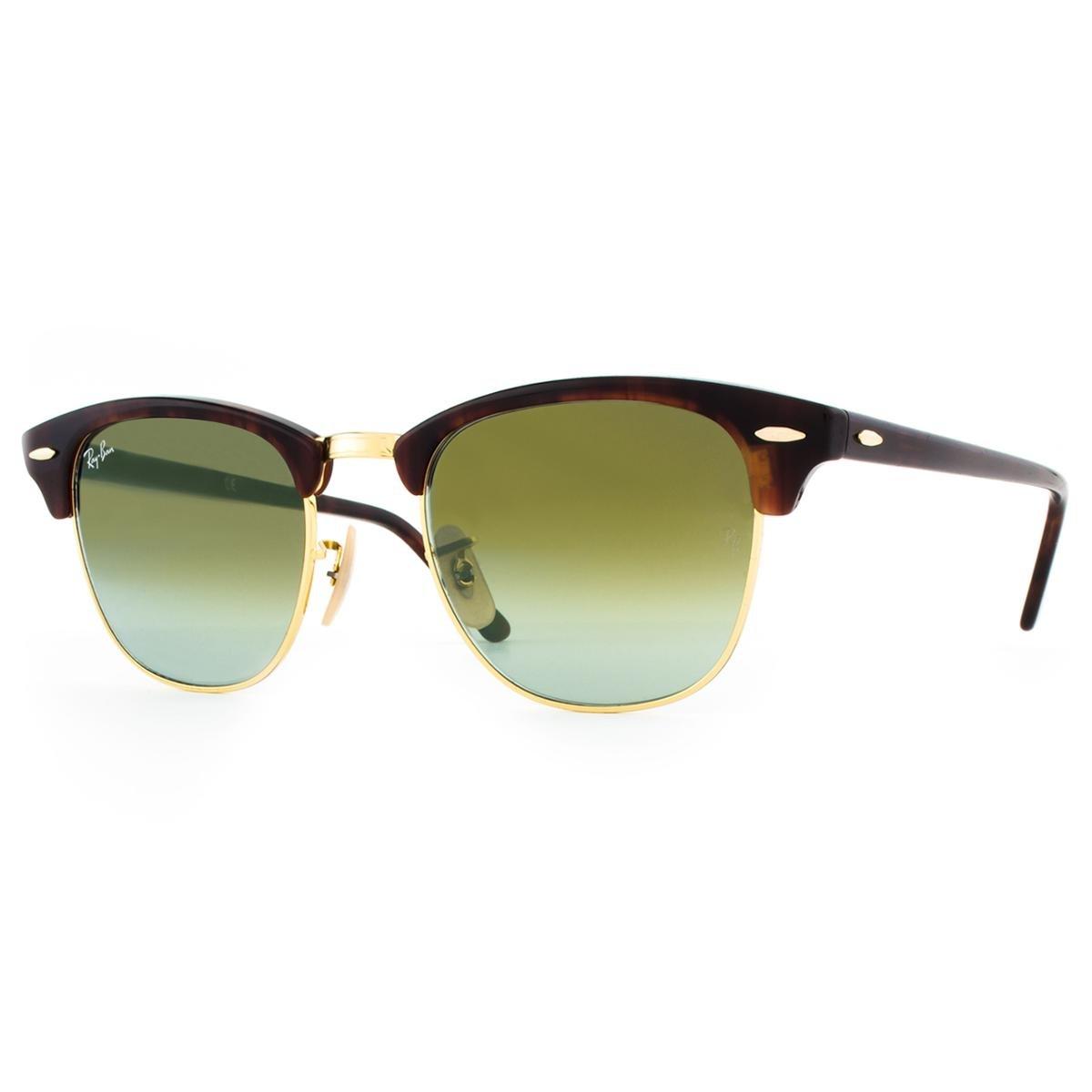 5c36eed162a12 ... Óculos de Sol Ray Ban Clubmaster Flash RB3016 990 9J-51 Feminino ...