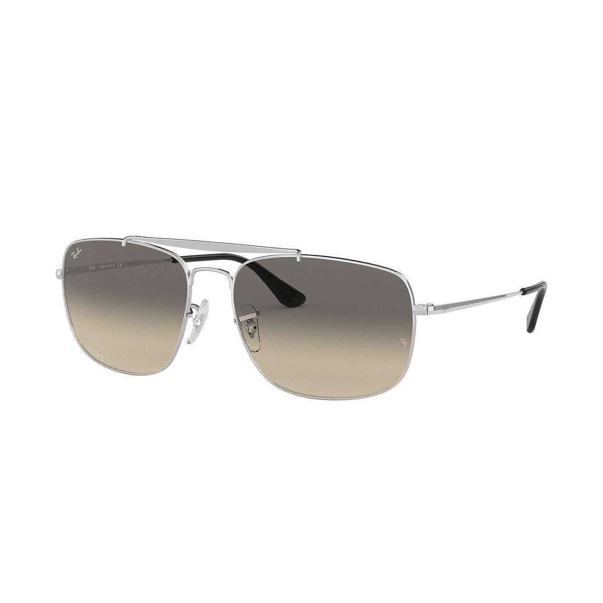 Óculos de Sol Ray-Ban Colonel RB3560 Feminino - Prata - Compre Agora ... 28ae4ae0a4