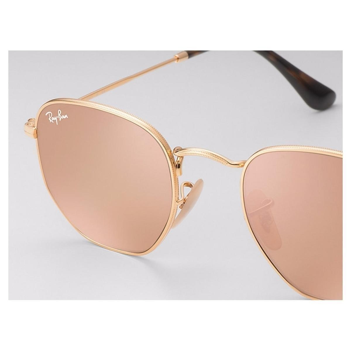 Óculos de Sol Ray Ban Hexagonal RB3548NL . 3c8ec5bd71