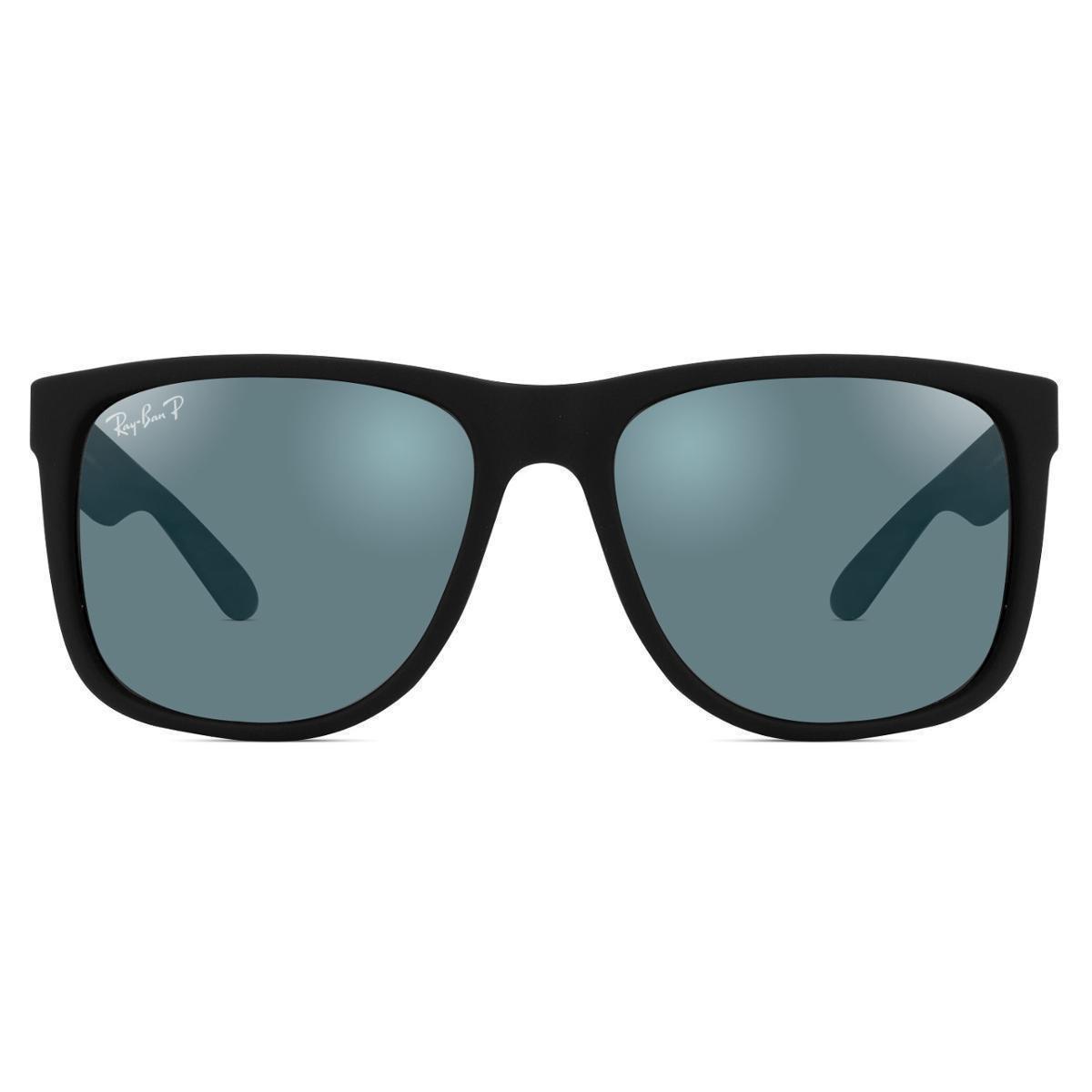 Óculos de Sol Ray Ban Justin Polarizado RB4165L 622 T3 - Preto ... f827e2bc2b