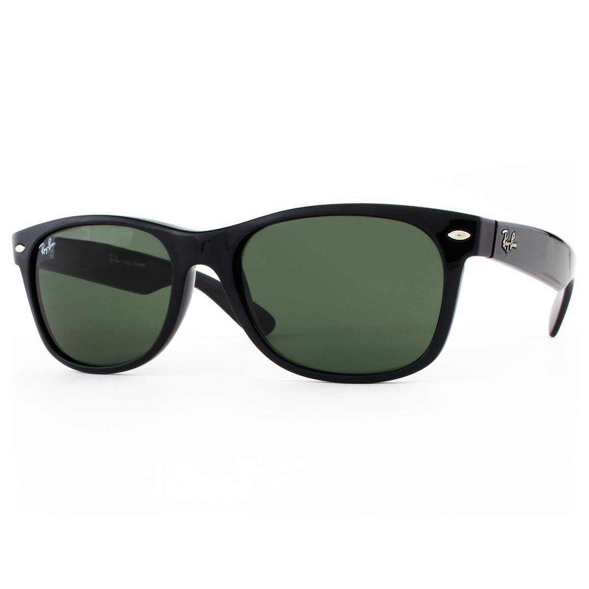 ... Óculos de Sol Ray Ban New Wayfarer Classic RB2132LL 901L-55 Masculino  ... a430f402c6