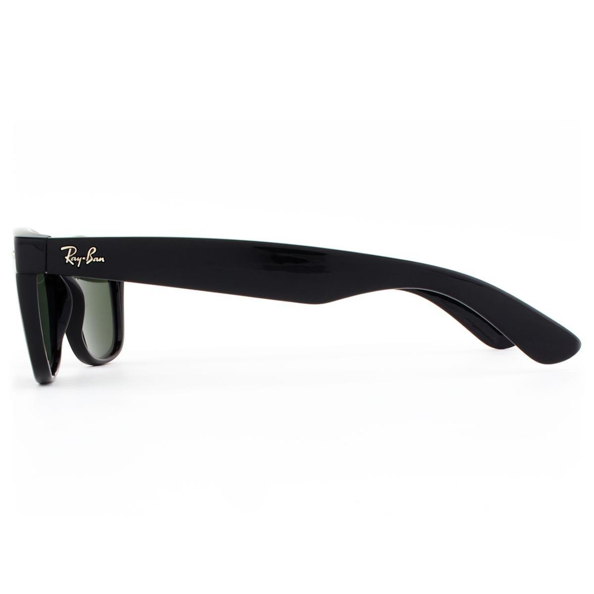 ... Óculos de Sol Ray Ban New Wayfarer Classic RB2132LL 901L-55 Masculino 836dd568d9