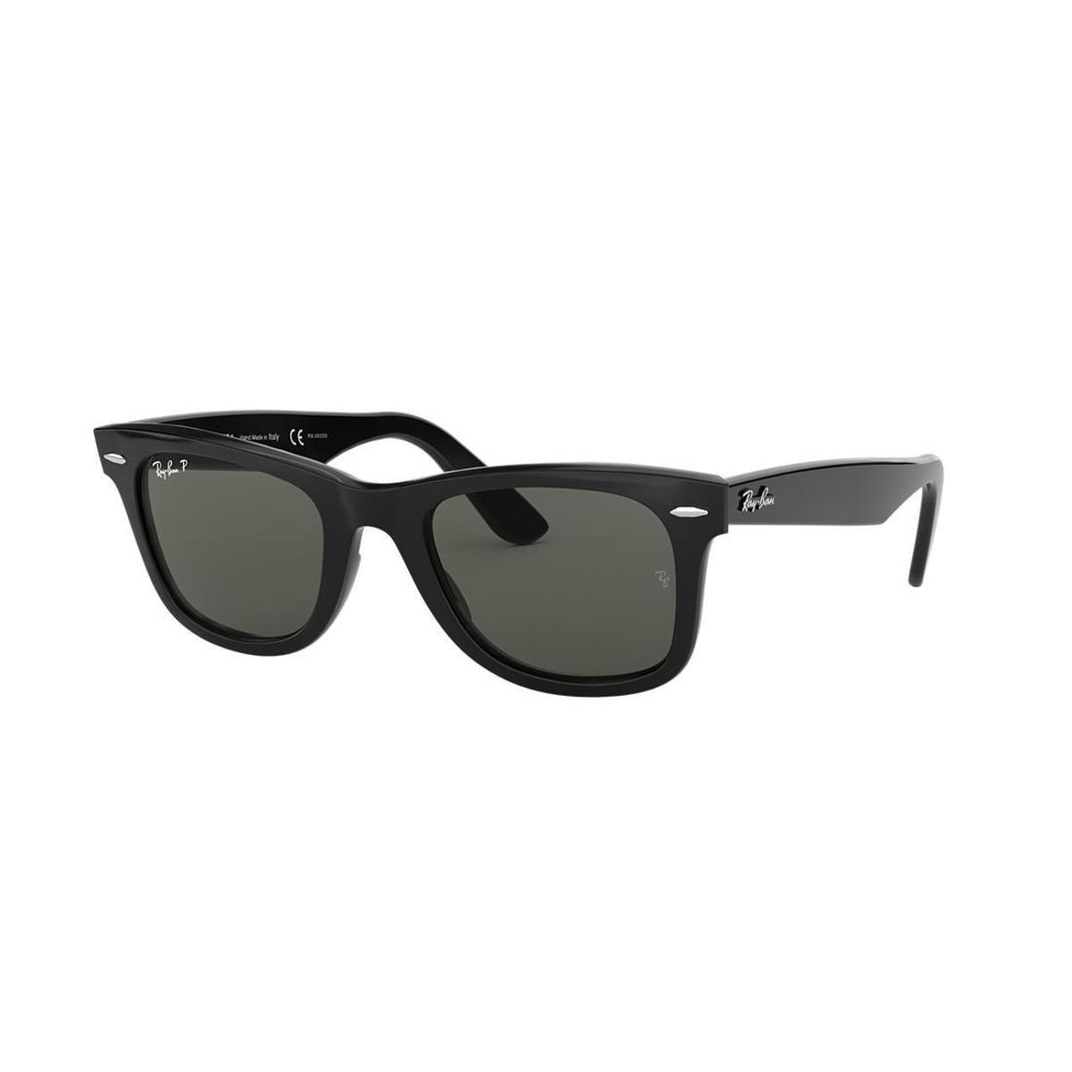 b9fec7d10f9ca Óculos de Sol Ray-Ban RB2140 Original Wayfarer Clássico - Preto ...