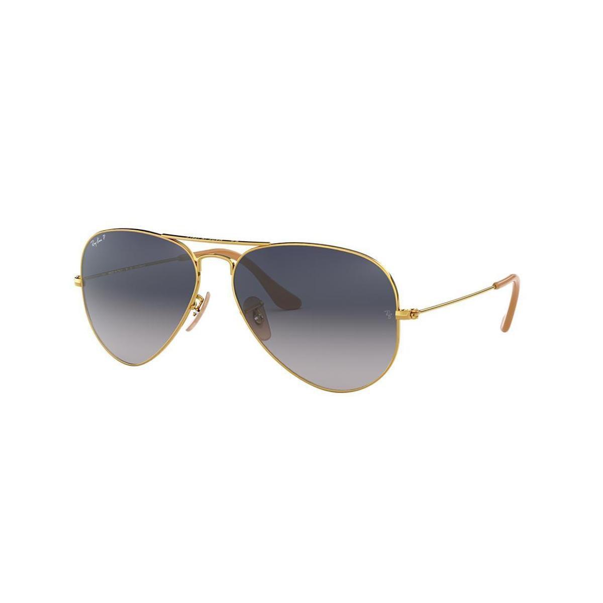 f1e0a2be4 Óculos de Sol Ray-Ban RB3025 Aviator Gradiente - Ouro | Zattini