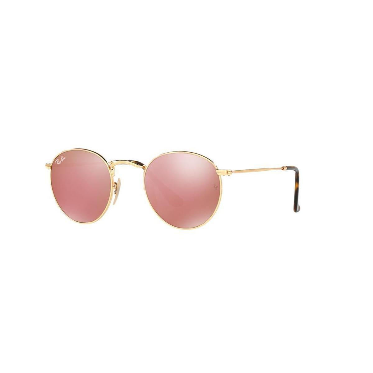 ed96646d31 Óculos de Sol Ray-Ban RB3447NL Round Metal - Compre Agora | Zattini