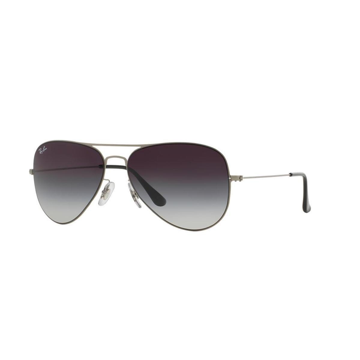 Óculos de Sol Ray-Ban RB3513 Aviator Flat Metal - Compre Agora   Zattini 92cbabeb02